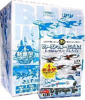 童友社1/144 現用機コレクションファーストブルーインパルス F-86F セイバー (1BOX)