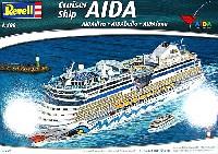 レベルShips(艦船関係モデル)客船 AIDA (AIDAdiva、AIDAbella、AIDAluna)