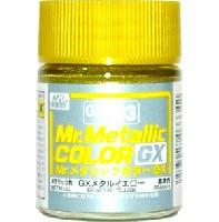 GSIクレオスMr.メタリックカラー GXGX メタルイエロー (メタリック) (GX-203)