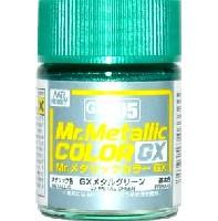 GSIクレオスMr.メタリックカラー GXGX メタルグリーン (メタリック) (GX-205)