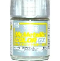 GSIクレオスMr.メタリックカラー GXGX ラフシルバー (メタリック) (GX-208)
