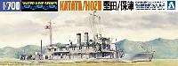 アオシマ1/700 ウォーターラインシリーズ日本海軍 砲艦 堅田/保津