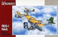 スペシャルホビー1/72 エアクラフト プラモデルカーチス FB2C-1 ホーク 3 艦上複葉戦闘機