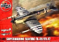 エアフィックス1/48 ミリタリーエアクラフトスーパーマリン シーファイア FR.46/FR.47