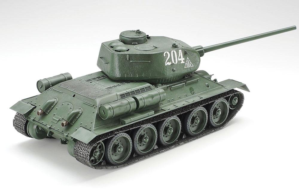 ソビエト T34/85 中戦車プラモデル(タミヤ1/35 ミリタリーミニチュアシリーズNo.138)商品画像_2