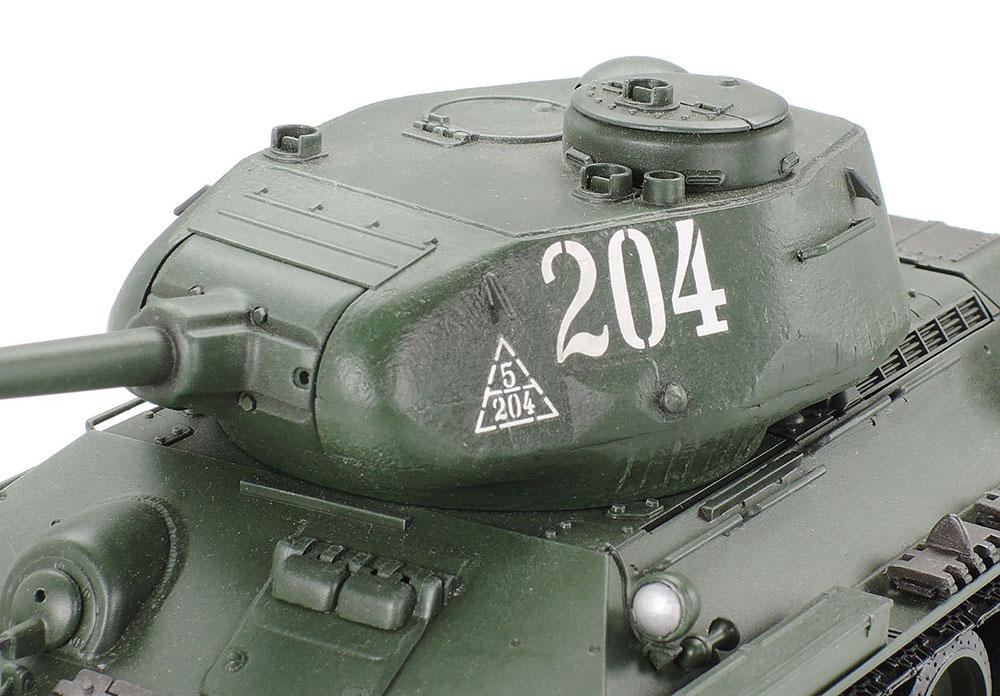 ソビエト T34/85 中戦車プラモデル(タミヤ1/35 ミリタリーミニチュアシリーズNo.138)商品画像_3