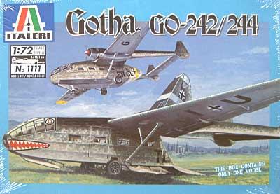 ゴータ 242/244 (Gotha Go-242/244)プラモデル(イタレリ1/72 航空機シリーズNo.1111)商品画像