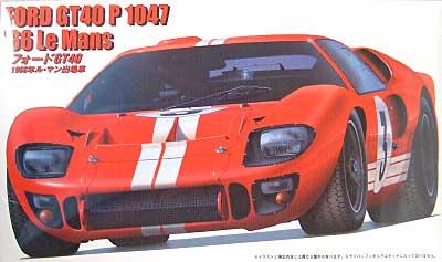 フォード GT40 1966年 ル・マン出場車プラモデル(フジミ1/24 ヒストリックレーシングカー シリーズ(SPOT)No.12146)商品画像