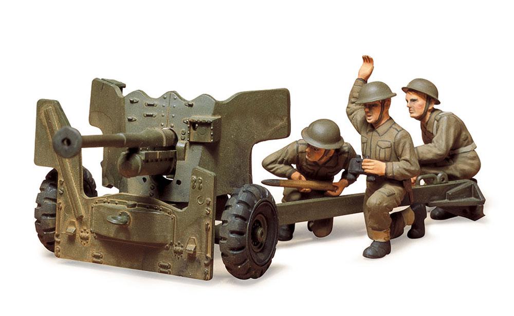 イギリス陸軍 6ポンド対戦車砲プラモデル(タミヤ1/35 ミリタリーミニチュアシリーズNo.005)商品画像_2
