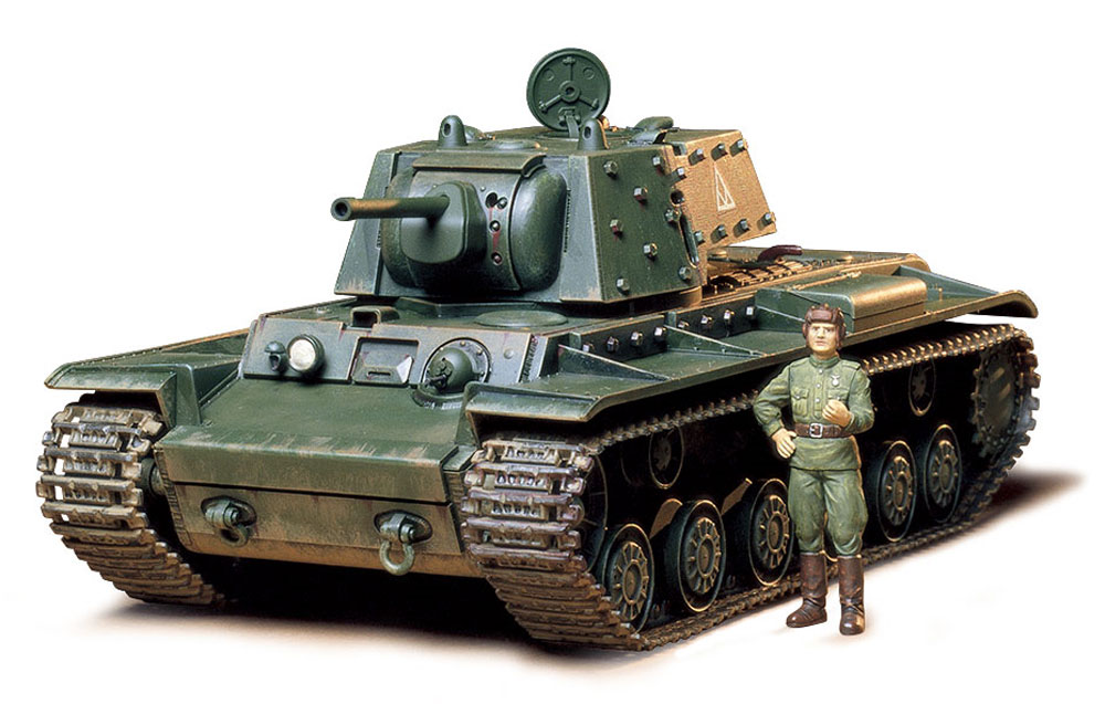 ソビエト KV-1B 重戦車プラモデル(タミヤ1/35 ミリタリーミニチュアシリーズNo.142)商品画像_2