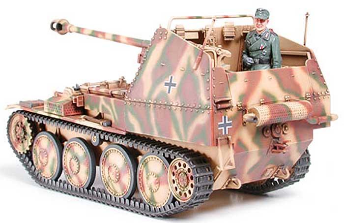 ドイツ対戦車自走砲 マーダー 3M (7.5cm Pak40搭載型)プラモデル(タミヤ1/35 ミリタリーミニチュアシリーズNo.255)商品画像_3
