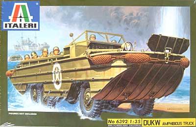 DUKWプラモデル(イタレリ1/35 ミリタリーシリーズNo.6392)商品画像