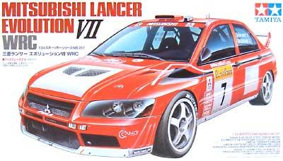 三菱 ランサー エボリューション 7 WRCプラモデル(タミヤ1/24 スポーツカーシリーズNo.257)商品画像