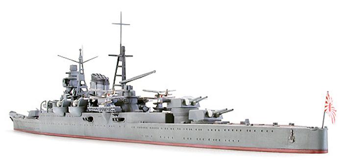 日本重巡洋艦 三隈プラモデル(タミヤ1/700 ウォーターラインシリーズNo.342)商品画像_3