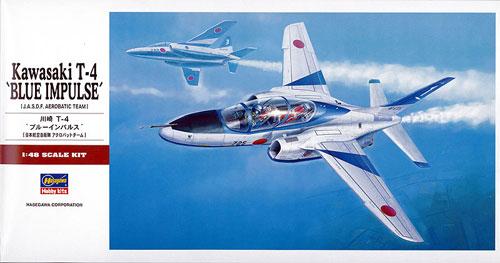 川崎 T-4 ブルーインパルス (日本航空自衛隊 アクロバットチーム)プラモデル(ハセガワ1/48 飛行機 PTシリーズNo.PT016)商品画像