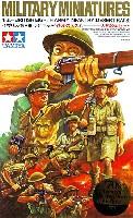 タミヤ1/35 ミリタリーミニチュアシリーズイギリス 第8軍歩兵セット 砂漠のネズミ