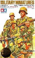 タミヤ1/35 ミリタリーミニチュアシリーズドイツ歩兵セット アフリカ・コーア