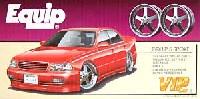 アオシマ1/24 VIPカー パーツシリーズエクィップ 5スポーク (19インチ・ディープリムホイール)