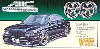 アオシマ1/24 VIPカー パーツシリーズABCエクスクルーシブ グレンツェン (19インチ・ディープリムホイール)