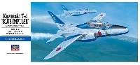 ハセガワ1/72 飛行機 Dシリーズ川崎 T-4 ブルーインパルス 2002
