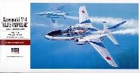 ハセガワ1/48 飛行機 PTシリーズ川崎 T-4 ブルーインパルス (日本航空自衛隊 アクロバットチーム)