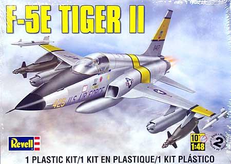 F-5E タイガー2プラモデル(レベル1/48 飛行機モデルNo.05318)商品画像