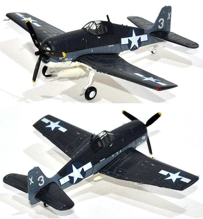 グラマン F6F-3 ヘルキャット VF-51 (USSサン・ジャシント 1944年)完成品(Avioni-Xダイキャスト製完成品モデルNo.AV441020)商品画像_2