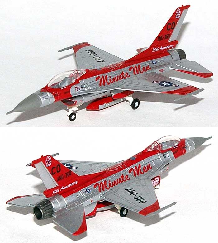F-16C ファイティングファルコン アメリカ空軍 コロラド州空軍 140戦闘航空団 120戦闘飛行隊完成品(ヘルパherpa Wings (ヘルパ ウイングス)No.554725)商品画像_3