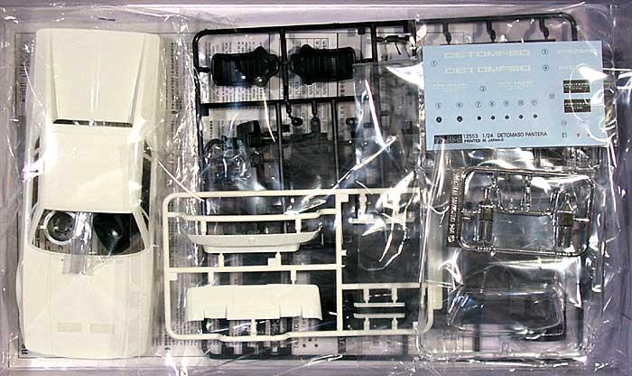 デ・トマソ パンテーラ GTSプラモデル(フジミ1/24 リアルスポーツカー シリーズNo.090)商品画像_1