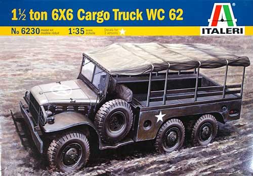 ダッジ WC62 トラックプラモデル(イタレリ1/35 ミリタリーシリーズNo.6230)商品画像