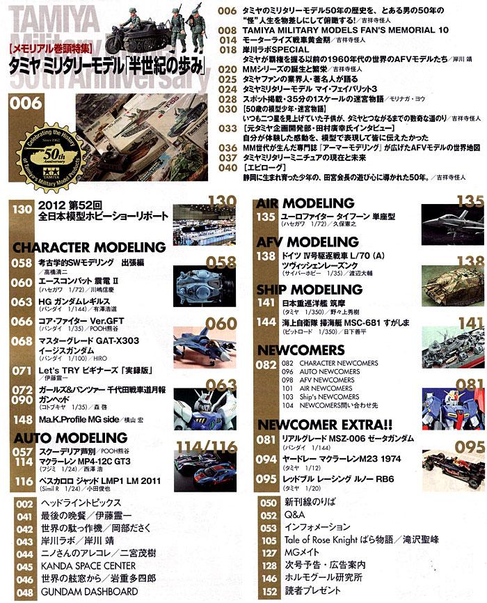 モデルグラフィックス 2012年12月号雑誌(大日本絵画月刊 モデルグラフィックスNo.337)商品画像_1