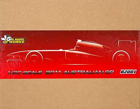 フェラーリ 150° イタリア 2011 オーストラリア GPレジン(B.MODEL WORKS1/20 レジンキットNo.B2001)商品画像