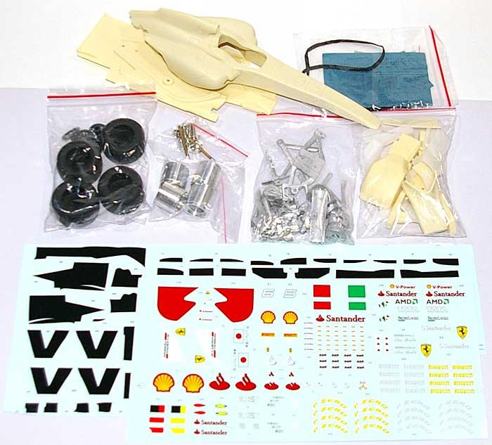 フェラーリ 150° イタリア 2011 オーストラリア GPレジン(B.MODEL WORKS1/20 レジンキットNo.B2001)商品画像_1