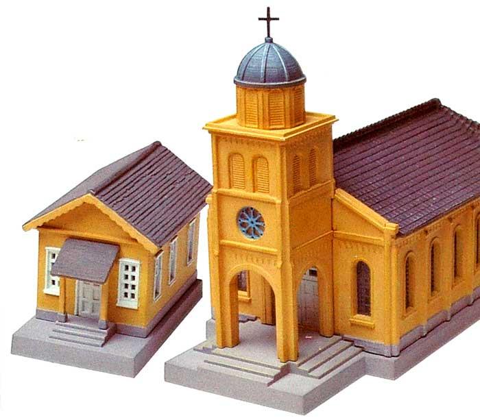 教会 B2 (塔のある教会)プラモデル(トミーテック建物コレクション (ジオコレ)No.051-2)商品画像_3