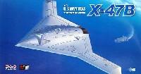 プラッツ1/72 プラスチックモデルキットアメリカ海軍 無人爆撃機 X-47B
