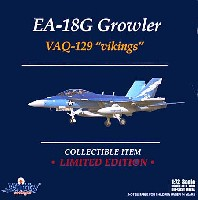 ウイッティ・ウイングス1/72 スカイ ガーディアン シリーズ (現用機)EA-18G グラウラー VAQ-129 ヴァイキングス 海軍航空100周年記念塗装