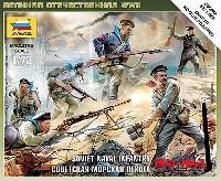 ズベズダART OF TACTICソビエト海軍兵 フィギュアセット