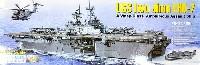 モノクローム1/350 艦船モデルアメリカ海軍 強襲揚陸艦 USS イオウ・ジマ LHD-7