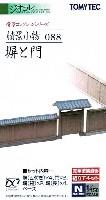 トミーテック情景コレクション 情景小物シリーズ塀と門