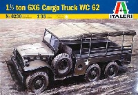 イタレリ1/35 ミリタリーシリーズダッジ WC62 トラック
