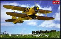 ローデン1/48 エアクラフト プラモデルビーチクラフト D.17S スタッガーウイング 複葉商用機 1930年代
