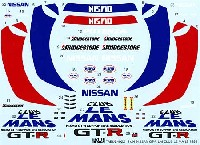 タブデザイン1/24 デカールニスモ GT-R クラブ ル・マン 1995 アクセサリーデカール