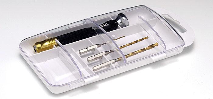 HG ワンタッチピンバイスセット工具(ウェーブホビーツールシリーズNo.HT-331)商品画像_2