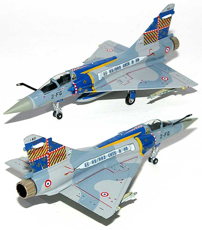 ミラージュ 2000-5 フランス空軍 EC2/2 Cote d' Or 20ans. BA102 ディジョン 2004完成品(ホーガンウイングスM-SERIESNo.7426)商品画像_1