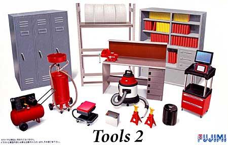 ツール 2プラモデル(フジミガレージ&ツールNo.026)商品画像