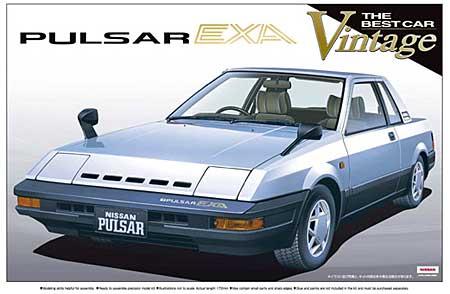 パルサー EXA (N12)プラモデル(アオシマ1/24 ザ・ベストカーヴィンテージNo.074)商品画像