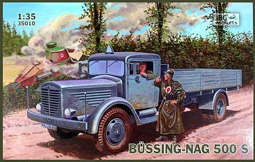 ドイツ ビューシング NAG500S 4.5トン 大型トラック 後輪駆動型プラモデル(IBG1/35 AFVモデルNo.35010)商品画像