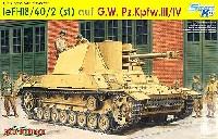 サイバーホビー1/35 AFV シリーズ ('39~'45 シリーズ)ドイツ 3/4号 10.5cm le.FH18/40/2 自走榴弾砲