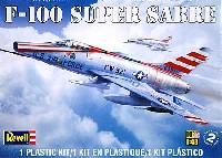 レベル1/48 飛行機モデルF-100 スーパーセイバー