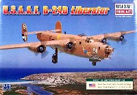 ミニクラフト1/144 軍用機プラスチックモデルキットアメリカ陸軍航空軍 B-24D リベレーター
